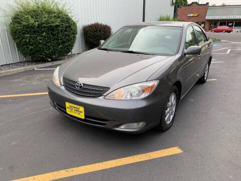 2004 Toyota Camry for sale at DAVENPORT MOTOR COMPANY in Davenport WA