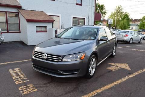2012 Volkswagen Passat for sale at L&J AUTO SALES in Birdsboro PA