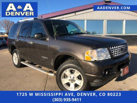 2005 Ford Explorer for sale at A & A AUTO LLC in Denver CO