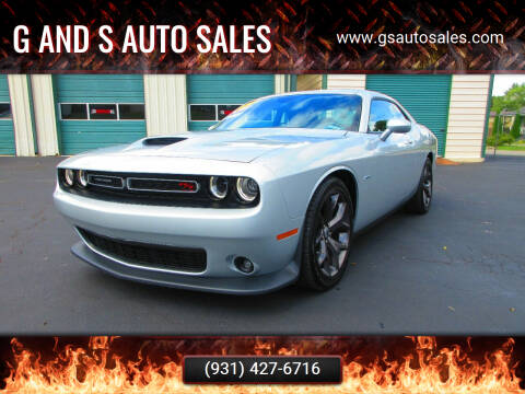 2019 Dodge Challenger for sale at G and S Auto Sales in Ardmore TN