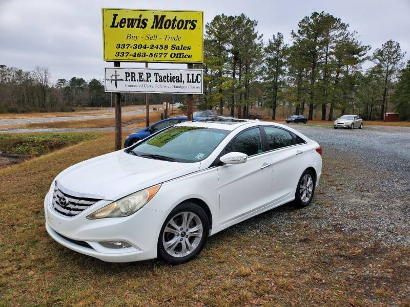 2011 Hyundai Sonata for sale at Lewis Motors LLC in Deridder LA