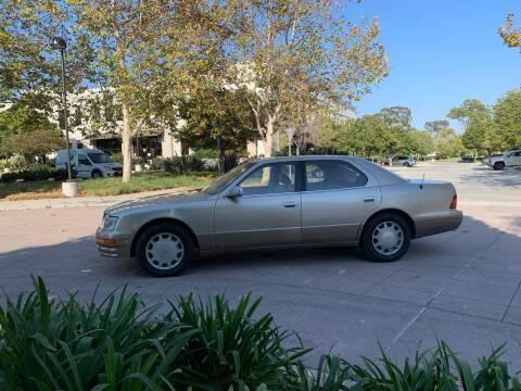 1997 Lexus LS 400 for sale at Goleta Motors in Goleta CA