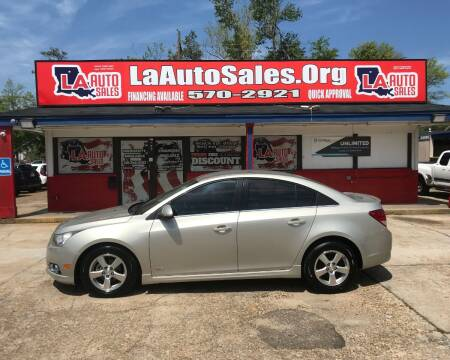 2013 Chevrolet Cruze for sale at LA Auto Sales in Monroe LA