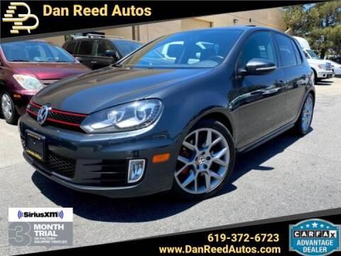 2013 Volkswagen GTI for sale at Dan Reed Autos in Escondido CA