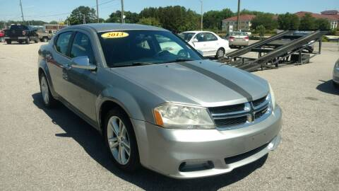2013 Dodge Avenger for sale at Kelly & Kelly Supermarket of Cars in Fayetteville NC