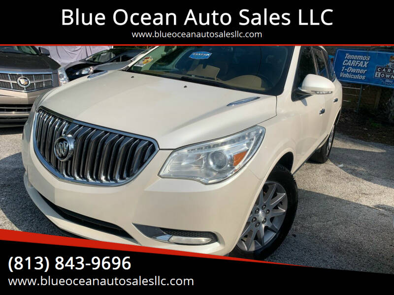 2014 Buick Enclave for sale at Blue Ocean Auto Sales LLC in Tampa FL