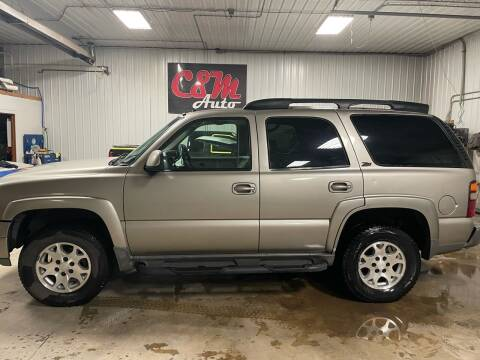 2002 Chevrolet Tahoe for sale at C&M Auto in Worthing SD