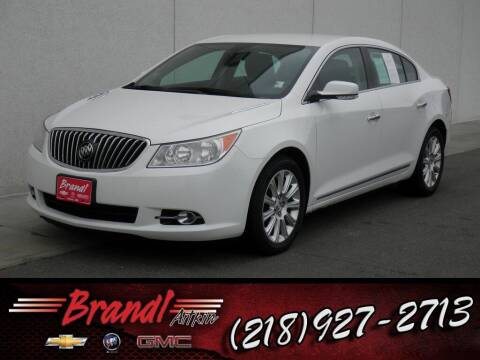 2013 Buick LaCrosse for sale at Brandl GM in Aitkin MN