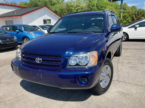 2003 Toyota Highlander for sale at Mars auto trade llc in Kissimmee FL