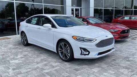 2020 Ford Fusion for sale at BOZARD FORD in Saint Augustine FL