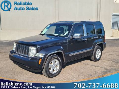 2010 Jeep Liberty for sale at Reliable Auto Sales in Las Vegas NV