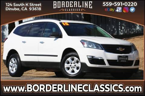 2015 Chevrolet Traverse for sale at Borderline Classics in Dinuba CA