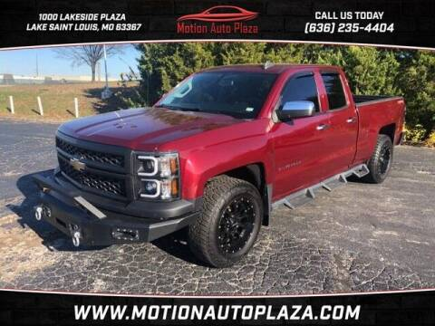2015 Chevrolet Silverado 1500 for sale at Motion Auto Plaza in Lakeside MO