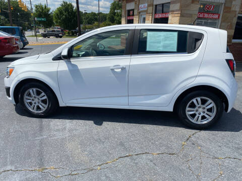 2013 Chevrolet Sonic for sale at Autoville in Kannapolis NC