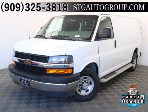 2019 Chevrolet Express Cargo for sale at STG Auto Group in Montclair CA