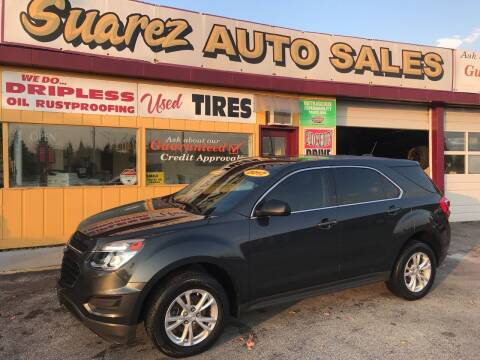 2017 Chevrolet Equinox for sale at Suarez Auto Sales in Port Huron MI