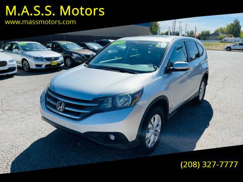 2014 Honda CR-V for sale at M.A.S.S. Motors - MASS MOTORS in Boise ID