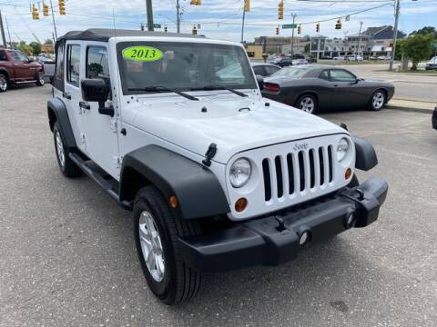 2013 Jeep Wrangler Unlimited for sale at Sell Your Car Today in Fayetteville NC
