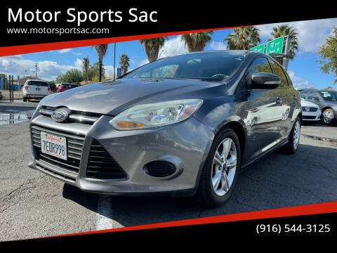 2014 Ford Focus for sale at Motor Sports Sac in Sacramento CA