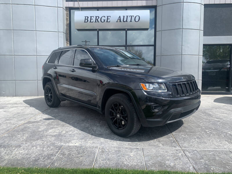 2015 Jeep Grand Cherokee for sale at Berge Auto in Orem UT