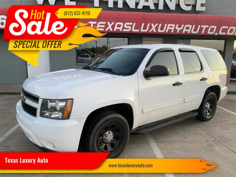2012 Chevrolet Tahoe for sale at Texas Luxury Auto in Cedar Hill TX