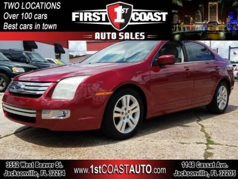 2008 Ford Fusion for sale at 1st Coast Auto -Cassat Avenue in Jacksonville FL
