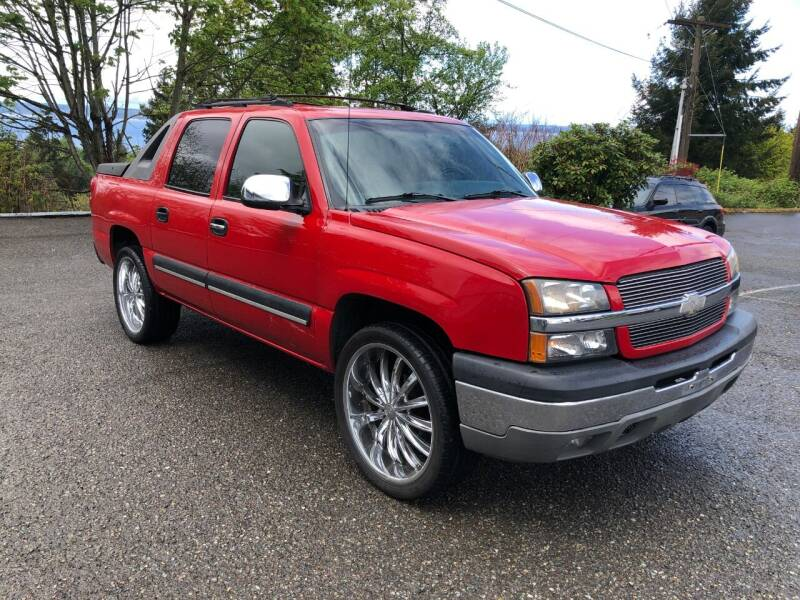 2003 Chevrolet Avalanche for sale at KARMA AUTO SALES in Federal Way WA
