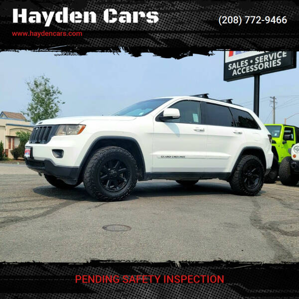 2012 Jeep Grand Cherokee for sale at Hayden Cars in Coeur D Alene ID