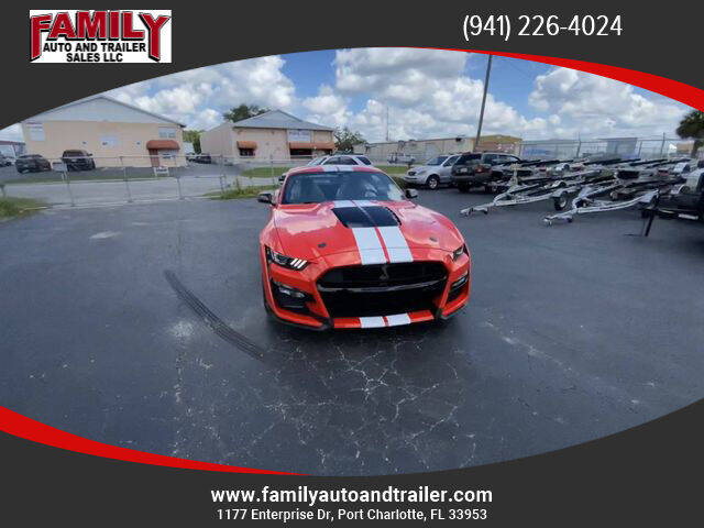 2021 Ford Mustang for sale at Family Auto and Trailer Sales LLC in Port Charlotte FL