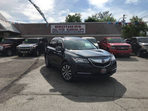 2014 Acura MDX for sale at Brothers Auto Group in Youngstown OH