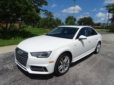 2017 Audi A4 for sale at Park Avenue Motors in New Smyrna Beach FL