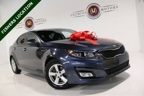 2015 Kia Optima for sale at Unlimited Motors in Fishers IN
