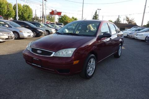 2007 Ford Focus for sale at Leavitt Auto Sales and Used Car City in Everett WA