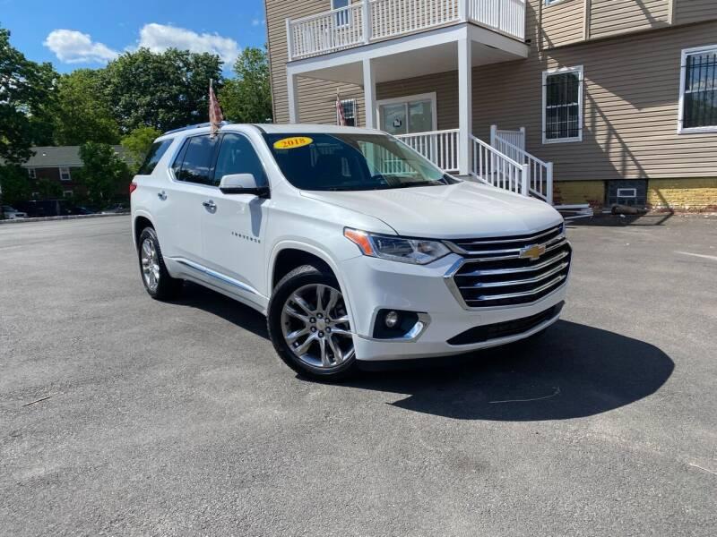 2018 Chevrolet Traverse for sale at PRNDL Auto Group in Irvington NJ