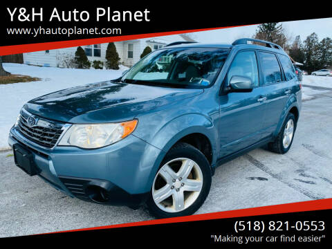2010 Subaru Forester for sale at Y&H Auto Planet in West Sand Lake NY