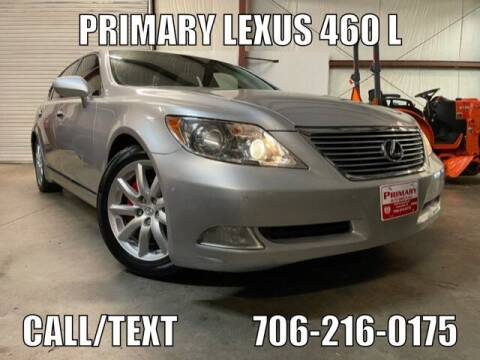 2008 Lexus LS 460 for sale at Primary Auto Group in Dawsonville GA