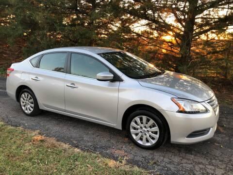 2014 Nissan Sentra for sale at Kansas Car Finder in Valley Falls KS