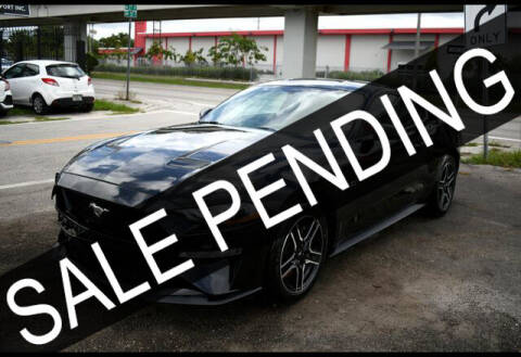 2019 Ford Mustang for sale at ELITE MOTOR CARS OF MIAMI in Miami FL