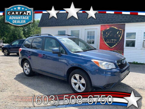 2014 Subaru Forester for sale at J & E AUTOMALL in Pelham NH