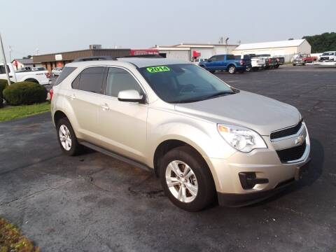 2014 Chevrolet Equinox for sale at Dietsch Sales & Svc Inc in Edgerton OH