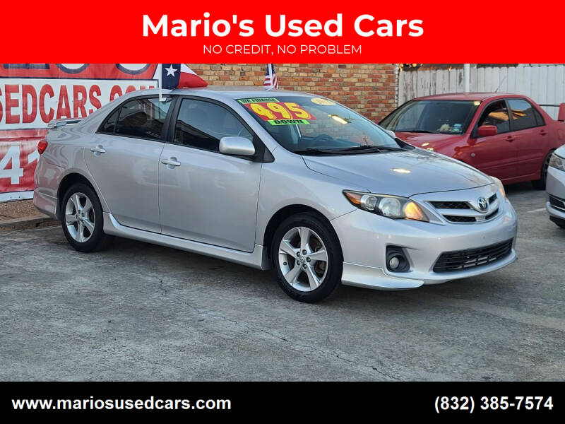 2011 Toyota Corolla for sale at Mario's Used Cars - South Houston Location in South Houston TX
