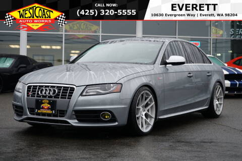 2011 Audi S4 for sale at West Coast Auto Works in Edmonds WA
