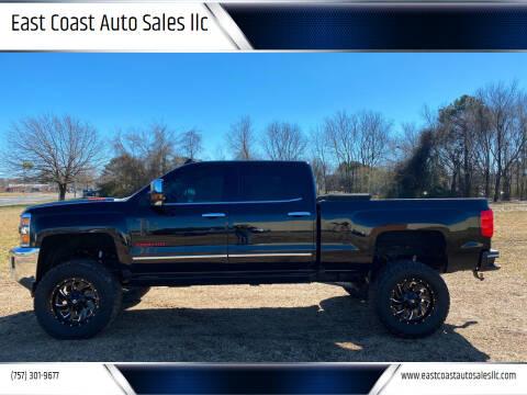 2015 Chevrolet Silverado 2500HD for sale at East Coast Auto Sales llc in Virginia Beach VA
