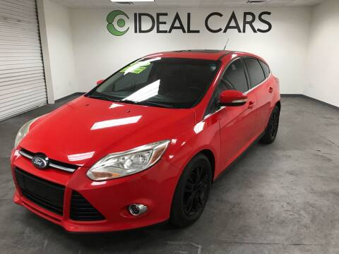 2012 Ford Focus for sale at Ideal Cars in Mesa AZ
