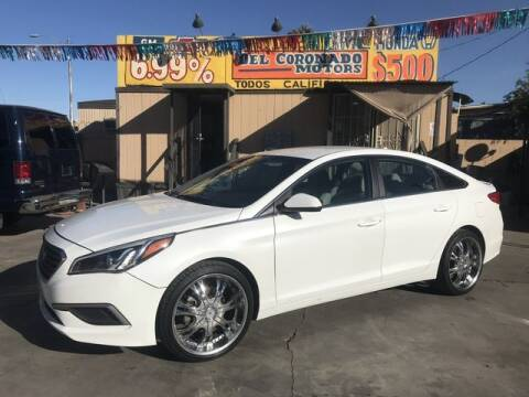 2017 Hyundai Sonata for sale at DEL CORONADO MOTORS in Phoenix AZ