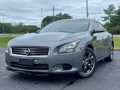2014 Nissan Maxima for sale at MAGIC AUTO SALES in Little Ferry NJ