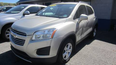 2016 Chevrolet Trax for sale at Auto Outlet of Morgantown in Morgantown WV