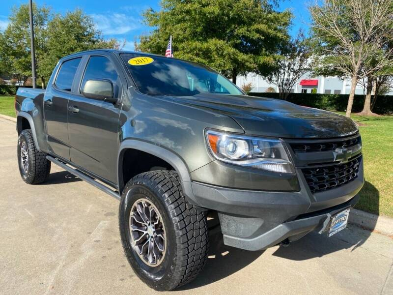2017 Chevrolet Colorado for sale at UNITED AUTO WHOLESALERS LLC in Portsmouth VA