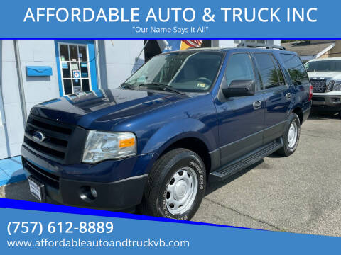 2010 Ford Expedition for sale at AFFORDABLE AUTO & TRUCK INC in Virginia Beach VA