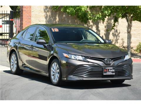 2019 Toyota Camry for sale at A-1 Auto Wholesale in Sacramento CA